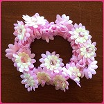 scr46 Flower Scrunchie (ea.)